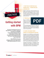 Best Practices for Getting Started With Bpm