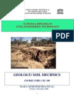Cec 108 Prac-geology- Soil Mechnics