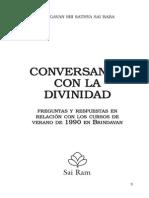 Conversando Con La Divinidad