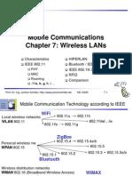 C07 Wireless LANs