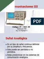 Curso Telecom III - 2013 PCM, Delta