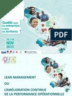 Christophe Piard - Lean Management