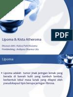 Lipoma & Kista Atheroma