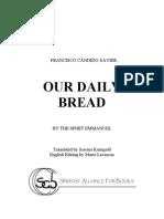 Our Daily Bread - FRANCISCO CÂNDIDO XAVIER