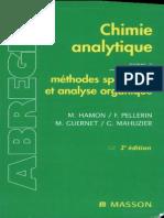 Abrégés - Chimie analytique