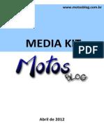Media Kit Motos Blog