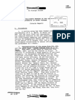 Intelligence Warning of the Tet Offensive in South Vietnam