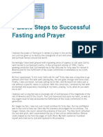 7 Basic Steps to Successful Fasting and Prayer