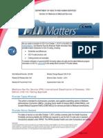 CMS Memo to Providers Regarding ICD-10