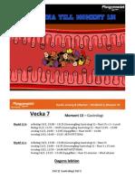 Moment 13 - Gastrologi - Del 1