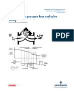 Hanbook on Pressure Loss and Valves Sizing