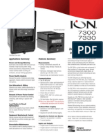 Ref 07 - ION7330 Power Meters Specifications