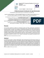 Artigo Ibracon 2012 - Sistema Construtivo Tridirecional Para Construcao de Lajes Nervuradas