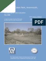 Cabot Park, Bristol Field Evaluation