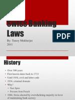 Swiss Bank Laws