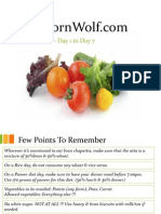 unbornwolf diet plan 2 week powerpoint presentation