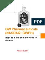 GW Pharmaceuticals (NASDAQ