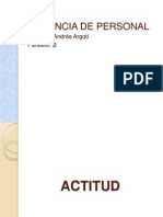 ACTITUD