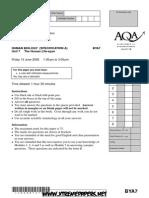 AQA Biology QP