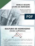 Sulfuro de Hidrogeno Presentacion