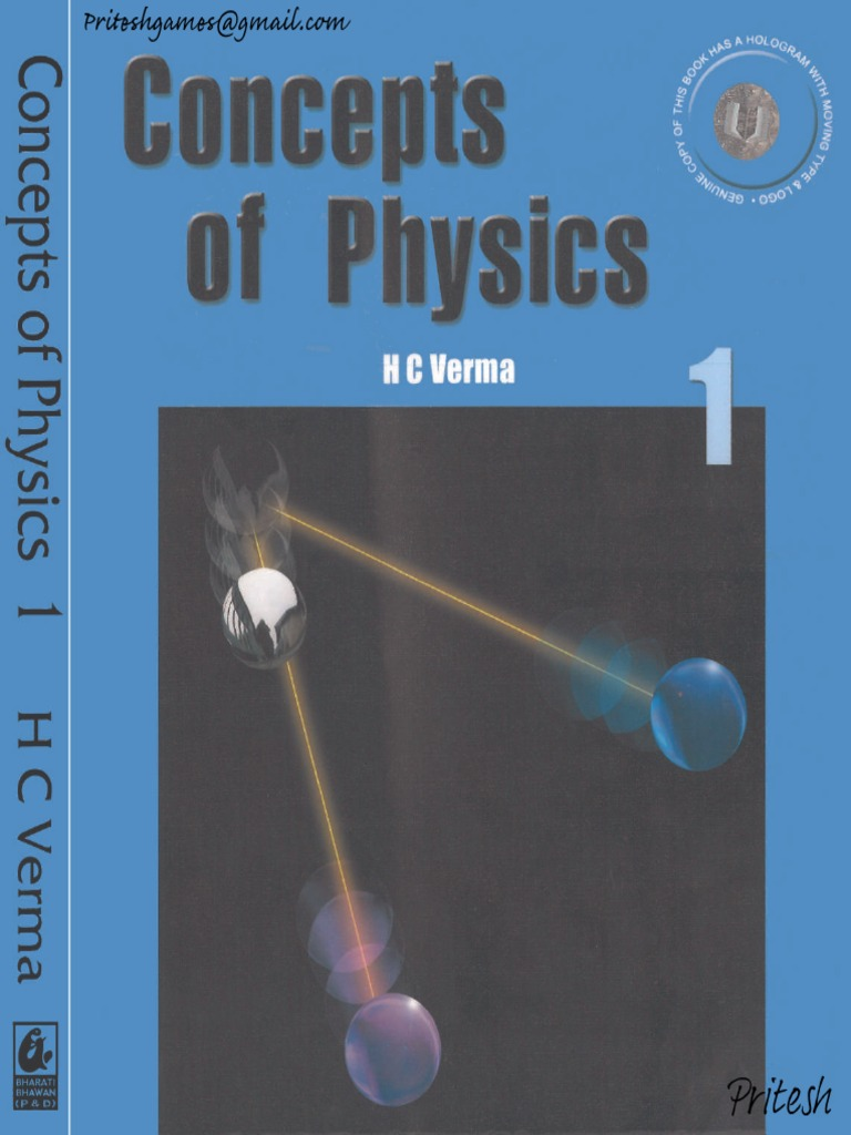 Concepts of Physics by HC Verma Volume1- | Rotation Around A Fixed Axis |  Collision