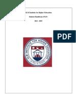 Student Handbook PGP 13-15