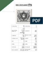 80734059 Diccionario Hebreo Espanol Con Transcripcion Fonetica
