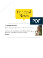 Principal Notes February 2014