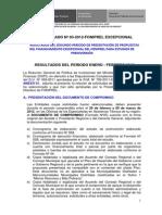 Comunicado N03 FONIPREL Excepcional Publicacion Resultados 2do Periodo