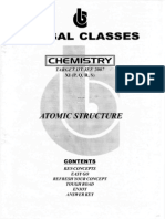 Bansal Classes Chemistry Study Material for IIT JEE 2