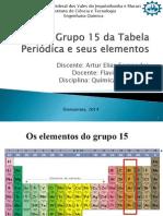 Seminário Grupo do Nitrogênio (Grupo 15)