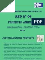 PROYECTO AMBIENTAL DE LA RED N° 04  CCESA