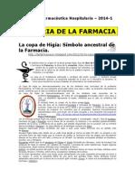 Atención Farmacéutica Hospitalaria - 2014-1