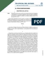 RDGRN 30-1-2014 importante porque rectifica su doctrina anterior sobre una cuestión de depósito de cuentas