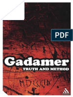 Gadamer, Truth and Method