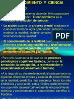 1.-Conocimiento y Ciencia