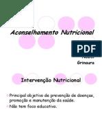 Aconselhamento Nutricional Atual