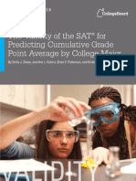 Researchreport 2012 6 Validity Sat Predicting Cumulative Gpa Major
