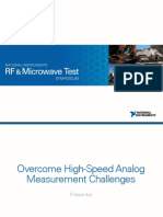 Overcome High-Speed Analog Measurement Challenges