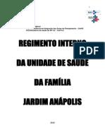 Regimento Interno Cms Jardim Anapolis 2014