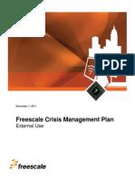 h07 - Freescale Crisis Management Plan