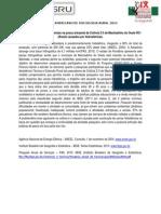 Impactos socioambientais na pesca artesanal da Colônia Z