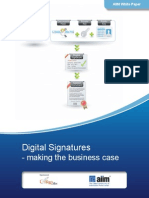Digital Signatures for Document Workflow and SharePoint Survey