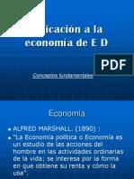 Aplicacion a La Economia