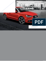 Audi A1 Accessories Guide (UK)
