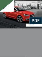 Audi A1 Accessories Guide (UK)