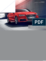 Audi A3 & S3 Saloon Catalogue (UK)