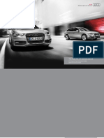 Audi A4, A4 allroad & S4 Catalogue (UK)