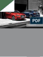 Audi A3 & S3 Catalogue (UK)