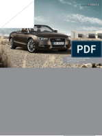 Audi A5 & S5 Cabriolet Catalogue (UK)